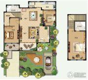 青建香根四季3室2厅2卫194平方米户型图