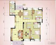 丰怡豪庭4室2厅2卫170平方米户型图