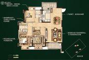 无锡孔雀城3室2厅2卫129平方米户型图