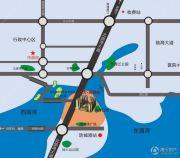 晟大海湾城交通图
