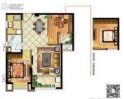 融信未来城2室2厅1卫0平方米户型图