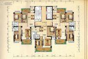 兴业花园3室2厅2卫116平方米户型图