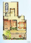 华强城5室2厅4卫257平方米户型图
