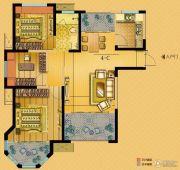 中南世纪城3室2厅1卫98平方米户型图