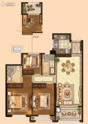 金麟府3室2厅2卫103平方米户型图