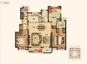 绿地江南华府3室2厅2卫135平方米户型图