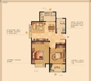 西地华府2室2厅1卫0平方米户型图