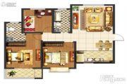 阳光尚苑2室2厅1卫89平方米户型图