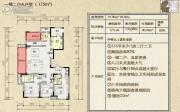 万象湾3室2厅3卫175平方米户型图