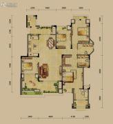 龙湖源著4室2厅2卫145平方米户型图