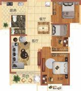 华地东城3室2厅1卫108--112平方米户型图