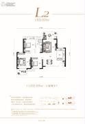保利时代3室2厅1卫102--105平方米户型图