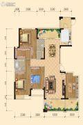 中正 桂花庄园4室2厅2卫178平方米户型图