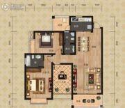 富恒・金鹏嘉苑二期2室2厅1卫109平方米户型图