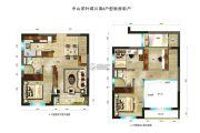 碧桂园・柏坦尼雅4室2厅2卫67平方米户型图