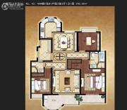 中南军山半岛2室3厅1卫0平方米户型图