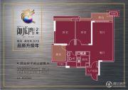 御龙湾2室2厅1卫82平方米户型图