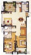 阳光龙庭2室2厅2卫130平方米户型图