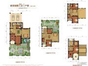 金昌启亚・白鹭金岸5室3厅4卫496平方米户型图