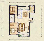 保艾尔云麓2室2厅2卫129平方米户型图