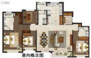 仁恒公园世纪4室2厅3卫0平方米户型图
