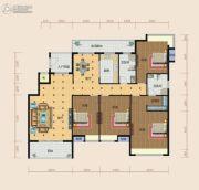 南方梅园3室2厅2卫188--189平方米户型图