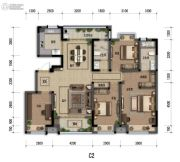 嘉裕第六洲4室1厅2卫0平方米户型图