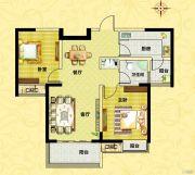 正商城2室2厅1卫92平方米户型图