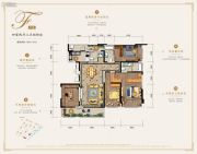 万科银海泊岸4室2厅3卫167平方米户型图