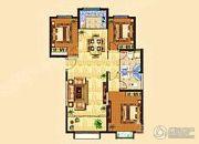 兰雅园丁雅居3室2厅2卫143平方米户型图