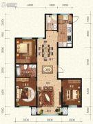 宏泰铂郡3室2厅2卫0平方米户型图
