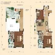 融城7英里2室2厅1卫69平方米户型图