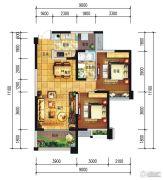远大中央公园2室2厅1卫83--92平方米户型图