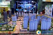 绿地中央广场沙盘图