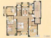 中星海上名豪苑四期御菁园3室2厅2卫140平方米户型图