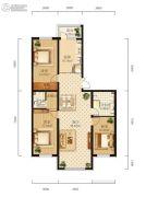学府经典3室1厅1卫0平方米户型图
