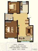 东郡2室2厅1卫91--94平方米户型图