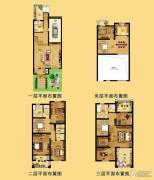 江南一品 别墅291平方米户型图