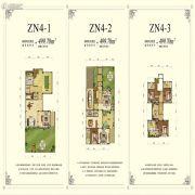 锦联上水溪谷4室3厅5卫499平方米户型图