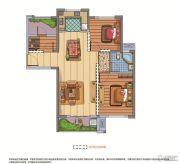 联发欣悦华庭3室2厅1卫0平方米户型图
