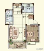 观山名筑4室2厅3卫152平方米户型图