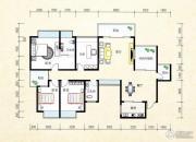 金水湾境界4室2厅2卫171平方米户型图