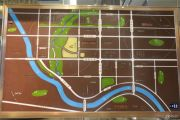 汉安天地交通图