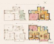 荣里4室2厅2卫140平方米户型图