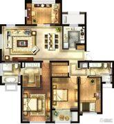 华润国际社区4室2厅2卫180平方米户型图
