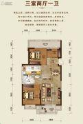 吉林昌邑万达广场3室2厅1卫0平方米户型图
