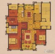 公元世家4室2厅2卫143平方米户型图