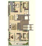 中鹰黑森林5室2厅2卫0平方米户型图