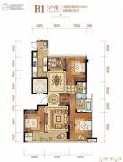 绿城・杨柳郡4室2厅2卫144平方米户型图