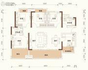 绿地悦麓名邸4室2厅2卫126平方米户型图